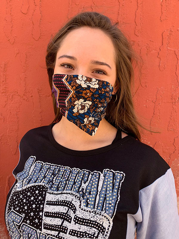 American Made Masks™ Fabric Mask - Boho Berry