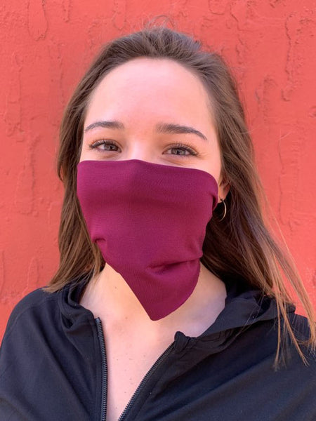 American Made Masks™ Fabric Mask - Port Wine
