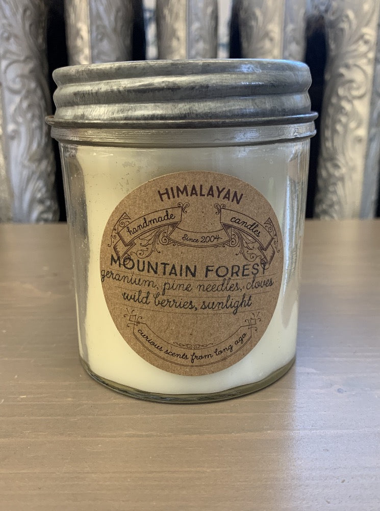 Himalayan 10oz Glass Jar Candle - 3 Scents