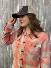 Load image into Gallery viewer, Colorado Trucker Hat - Navy and Beige