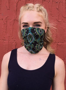 American Made Masks™ Fabric Mask - Peacock