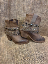Load image into Gallery viewer, Women's Urban Corral LD Tan Studded Strap Ankle Boots-P5020