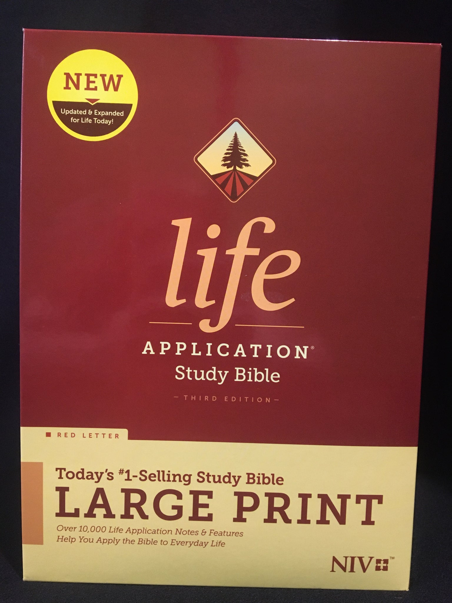 NIV Life Application Study Bible (Third Editions) - Large Print Addition