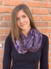 Load image into Gallery viewer, Infinity Scarf - Purple Haze