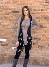 Load image into Gallery viewer, Cascade Vests - Black Polka Dot