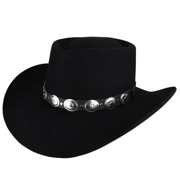 Renegade® Ellsworth Western Hat -Black