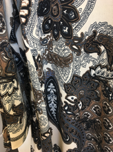 Load image into Gallery viewer, Freddi Top - Chocolate Paisley