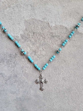 Load image into Gallery viewer, Big Skies Cross Necklace
