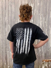 Load image into Gallery viewer, Youth We the People Short Sleeve Tee - Black