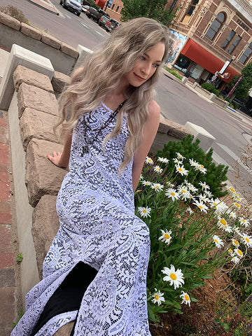 Maxine Dress - Amore White Lace