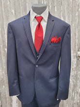 Load image into Gallery viewer, Michael Kors Sterling Wedding Slim Fit Suit - Navy
