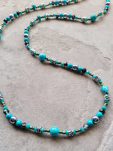 Load image into Gallery viewer, Turquoise Dreams Long Necklace