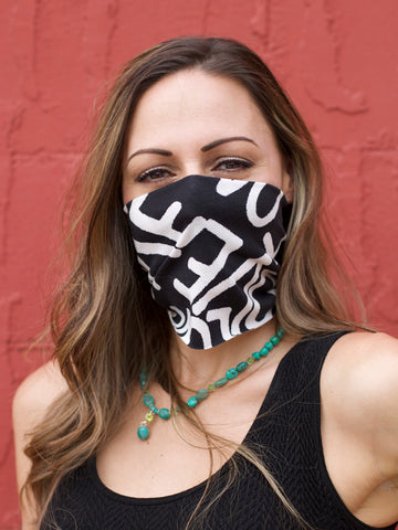 American Made Masks™ Fabric Mask - LOVE
