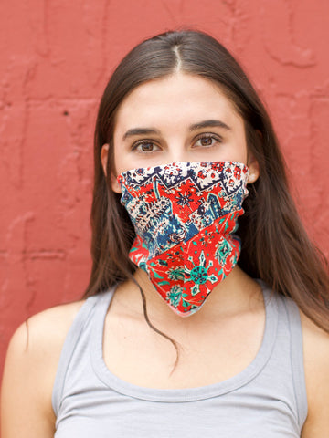 *Lizzy Headband/Mask - American Summer