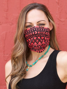 American Made Masks™ Fabric Mask - Grenadine Aztec
