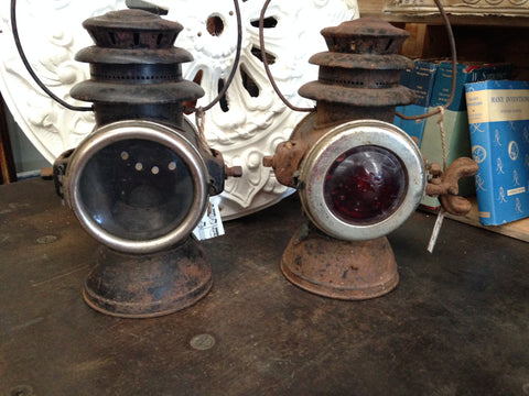 RAYO CARRIAGE LIGHTS - PAIR