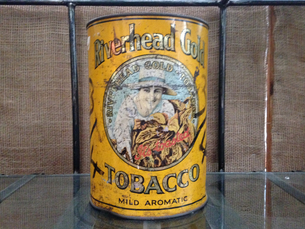 Riverhead Gold Tin