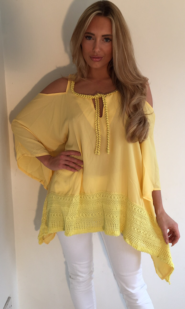 MILLEY YELLOW TOP