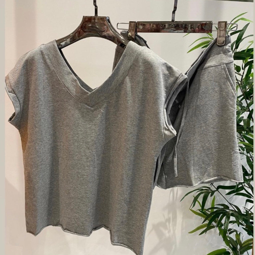 BAILEY BASIC GREY SHORT SET