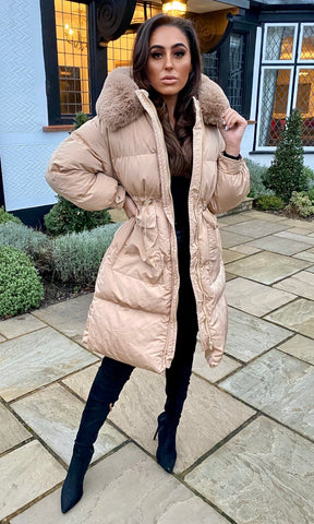 BILLIE SAND PUFFER JACKET