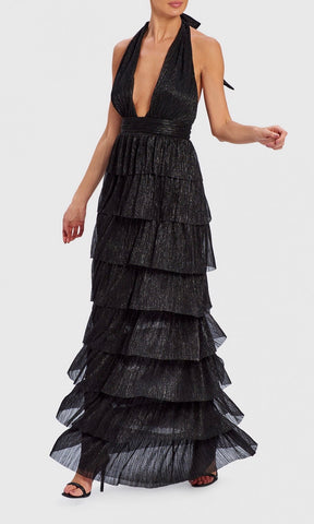 MARLEEN BLACK MAXI DRESS