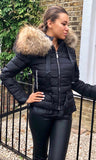 MOSCOW BLACK FUR JACKET