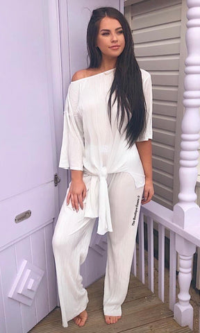 ORLA WHITE 2 PIECE SET
