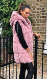 CALLY DUSTY PINK GILET