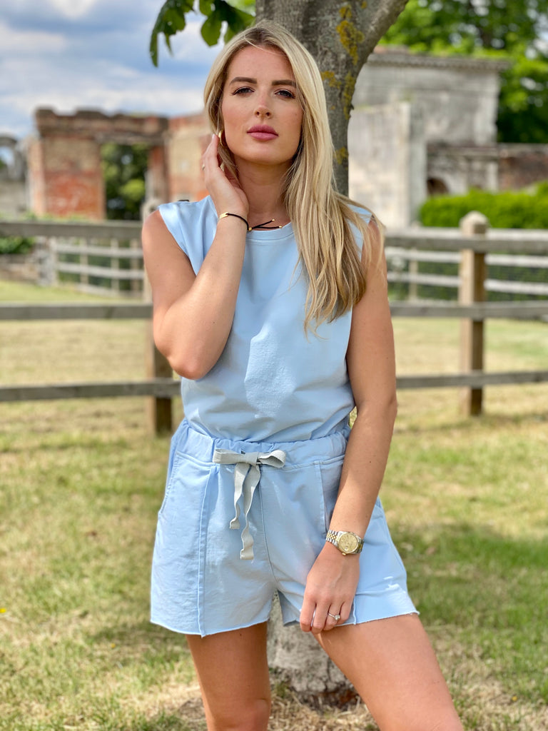 CARLA BLUE 2 PIECE SET