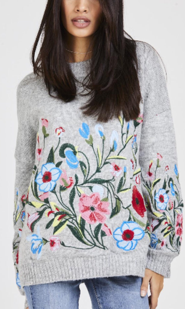 FORGET ME NOT FLORAL JUMPER