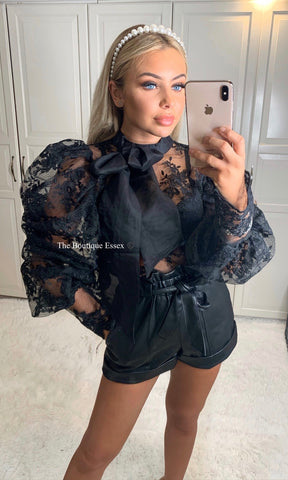 NENE LACE BLOUSE