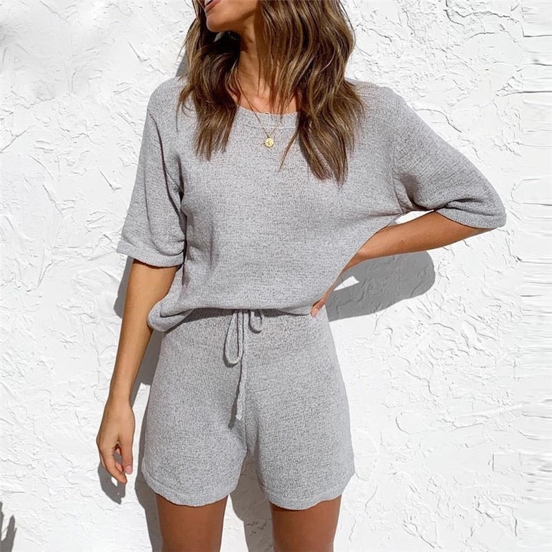 JADE GREY 2 PIECE SET