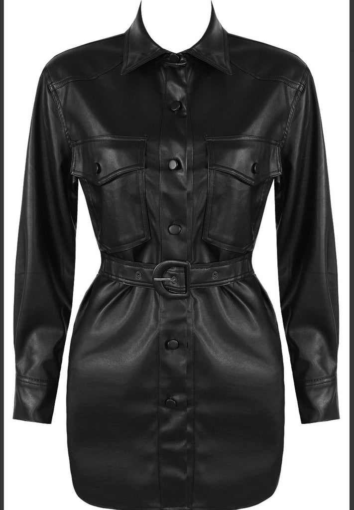 IVY BLACK SHIRT JACKET