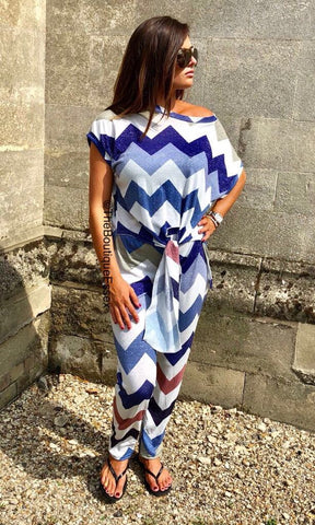 LENI BLUE 2 PIECE SET