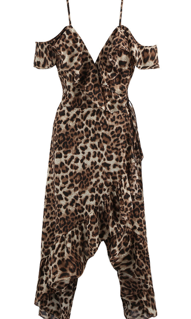 BROGAN LEOPARD PRINT DRESS