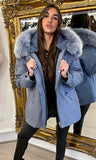 CROATIA BLUE PARKA JACKET