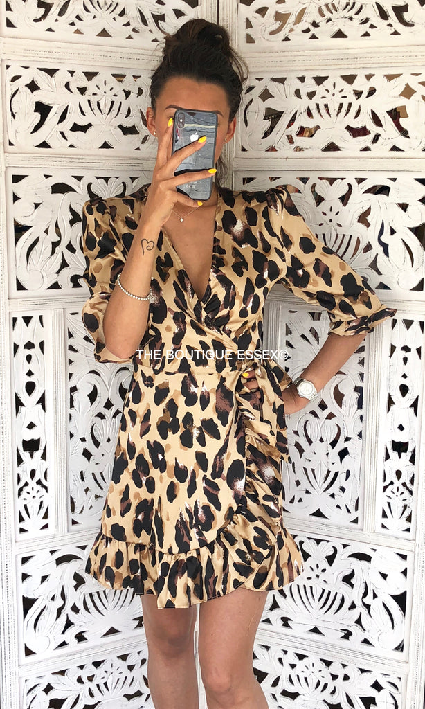 KYTHNOS LEOPARD DRESS