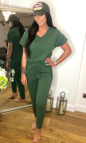 MIA KHAKI 2 PIECE SET