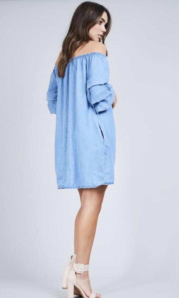 DUNE DENIM DRESS