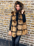 ADA LUXURY FAUX FUR GILET