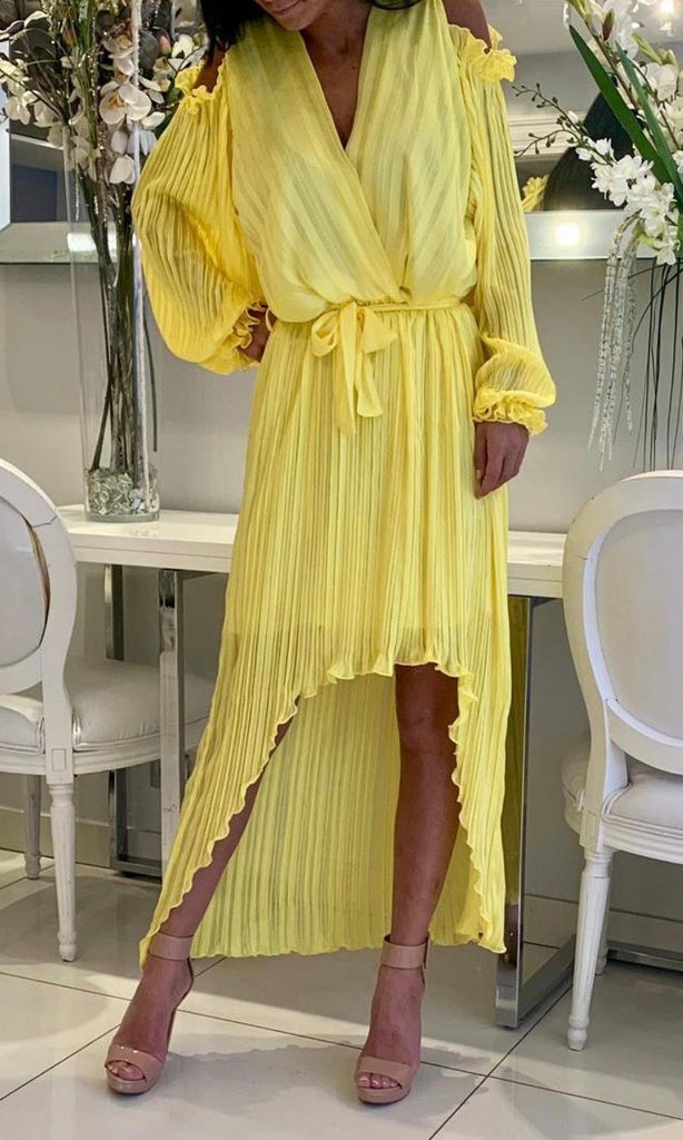 FLORENCE YELLOW DRESS