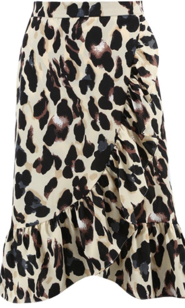FLOSS LEOPARD SKIRT