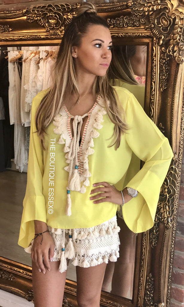 CADIE YELLOW 2 PIECE SET