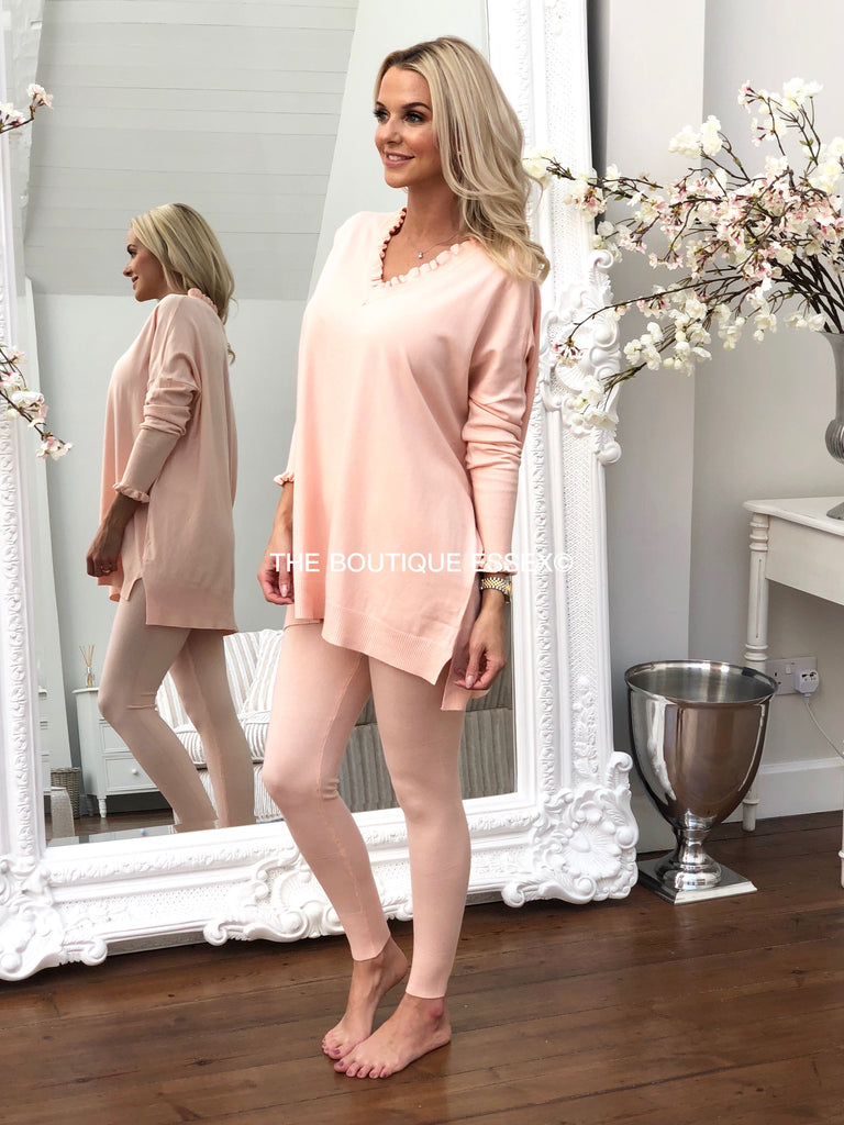 CATTIE PEACH 2 PIECE SET