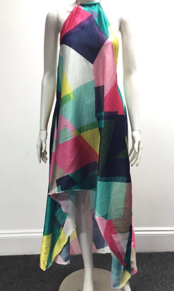 PETRA COLOUR BLOCK DRESS