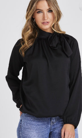 LEXY BLACK BLOUSE