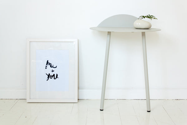 Me + You // Monochrome Magic Print