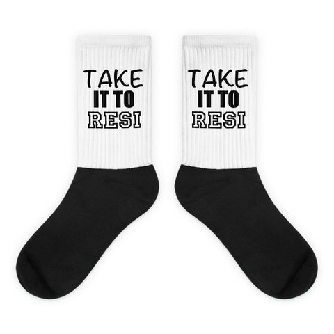 Take It To Resi Socks