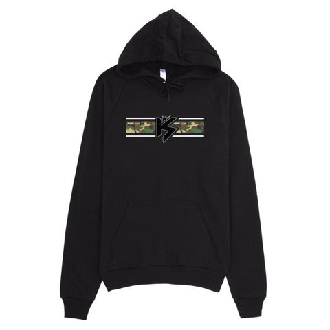 Camo Banner Hoodie