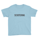 Scootering Kid's T-Shirt